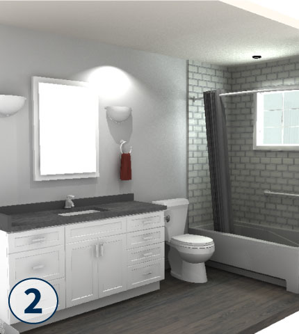 Browse Through Our Bathroom Remodeling Gallery For New Ideas